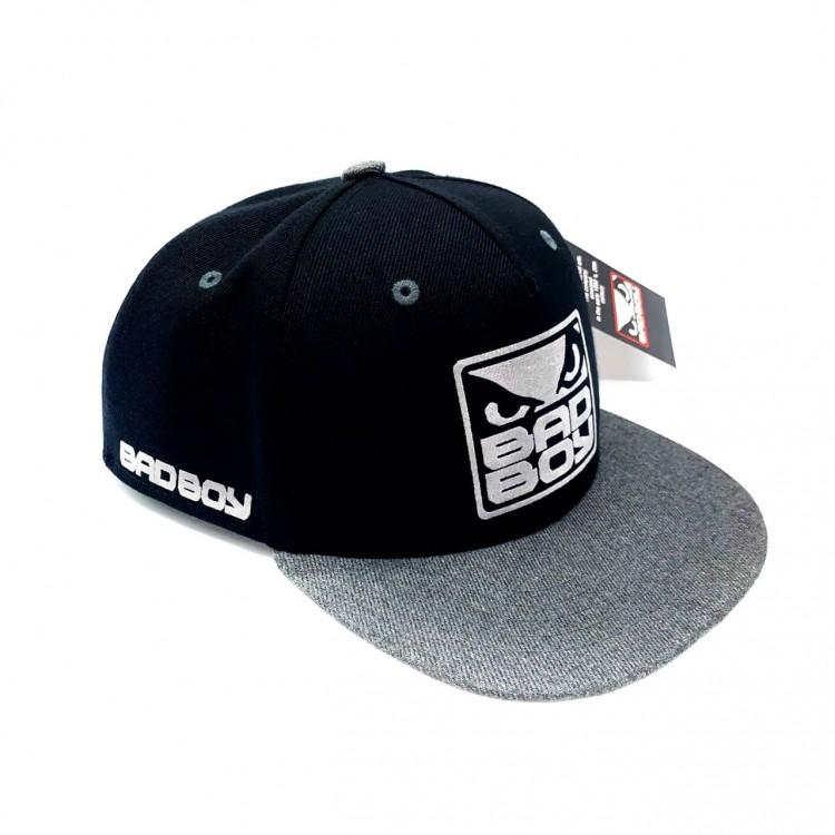 Кепка BAD BOY Snapback Hats black/gray