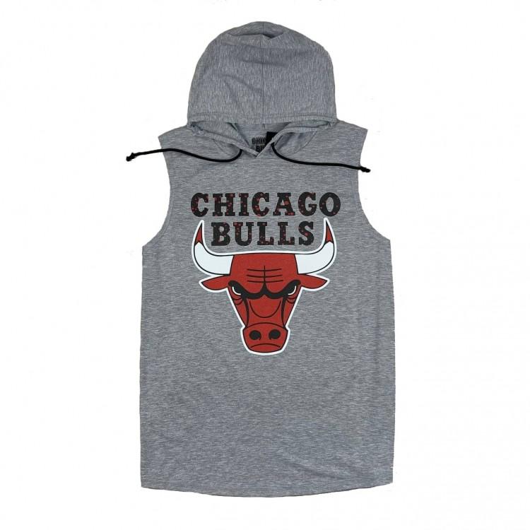 Безрукавка Chicago Bulls silver