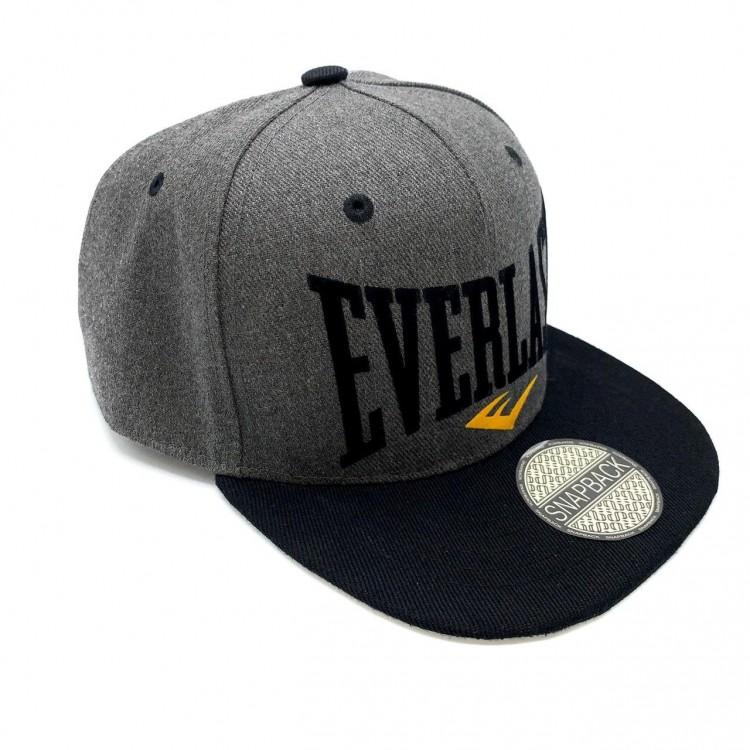 Snapback Everlast gray/black