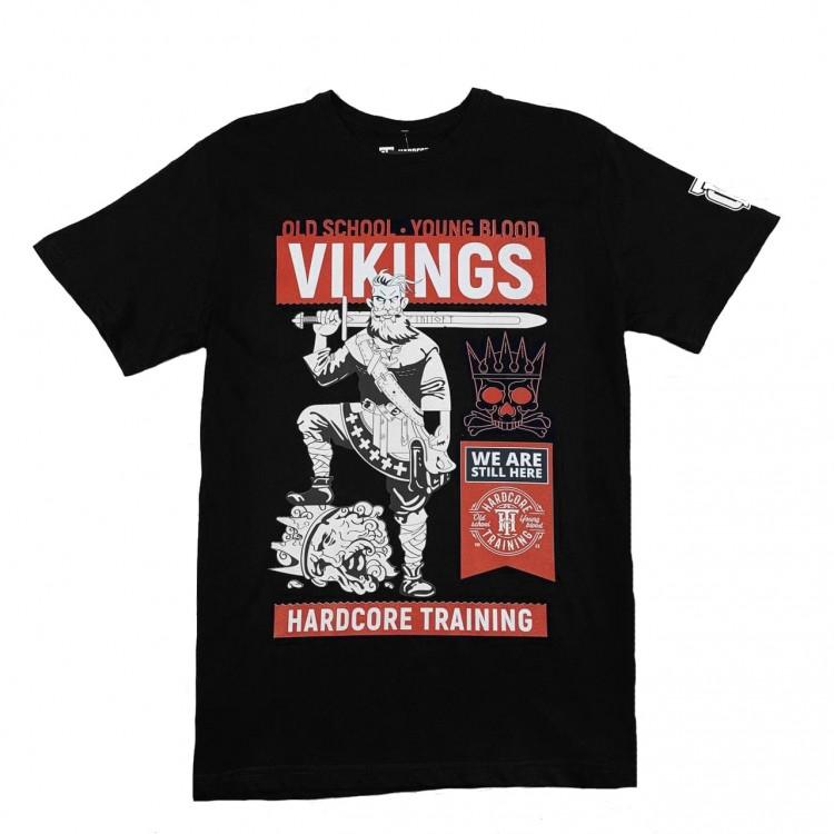 Футболка Hardcore training VIKINGS black