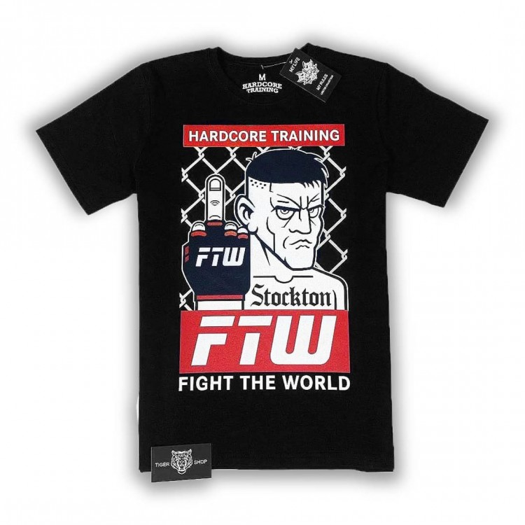 Мужская футболка Hardcore Training Diaz black