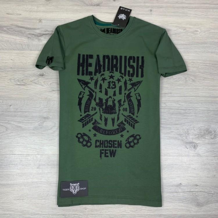 Футболка Headrush American Bandit Green