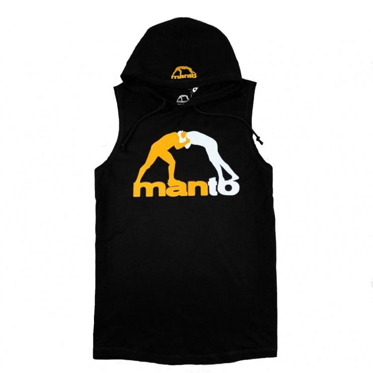 Безрукавка MANTO Classic Logo black