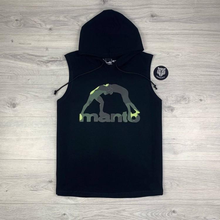 Безрукавка MANTO Classic Logo Camo black