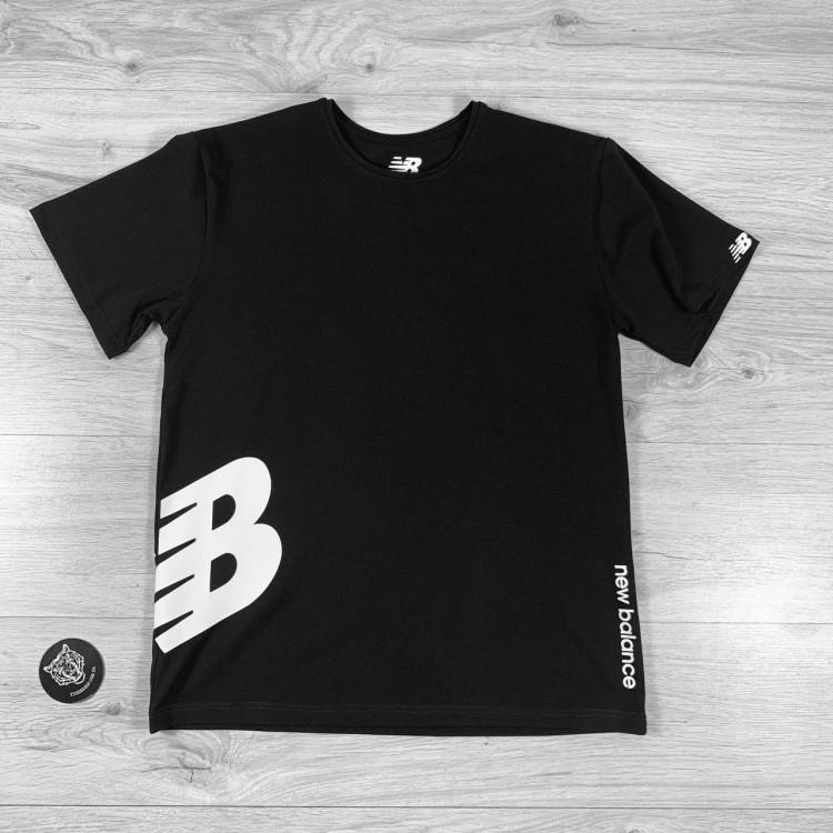 Футболка New Balance Big Logo black