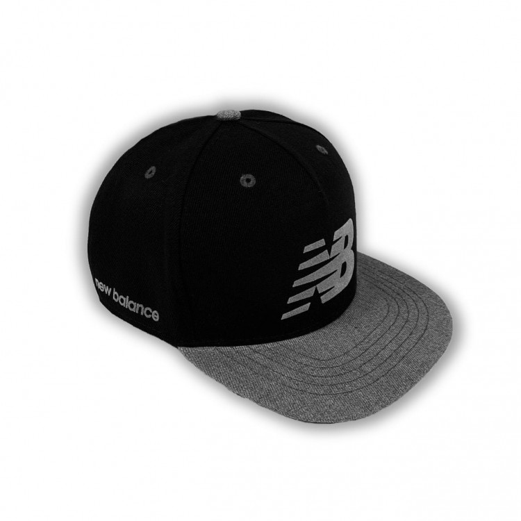 Snapback New Balance black/gray