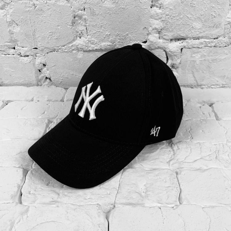 Кепка New York Yankees black/white