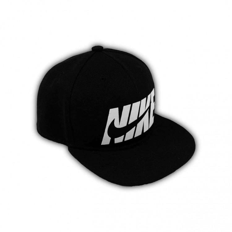 Snapback NIKE Big Letters Logo black