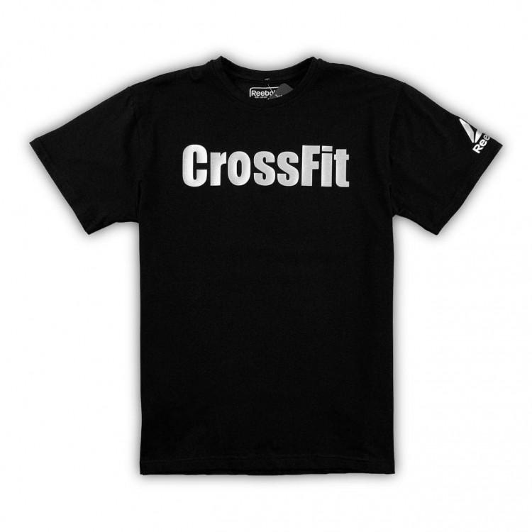 Футболка Reebok Crossfit Classic black/silver