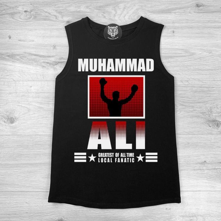 Майка ST Muhammad Ali Star black/red