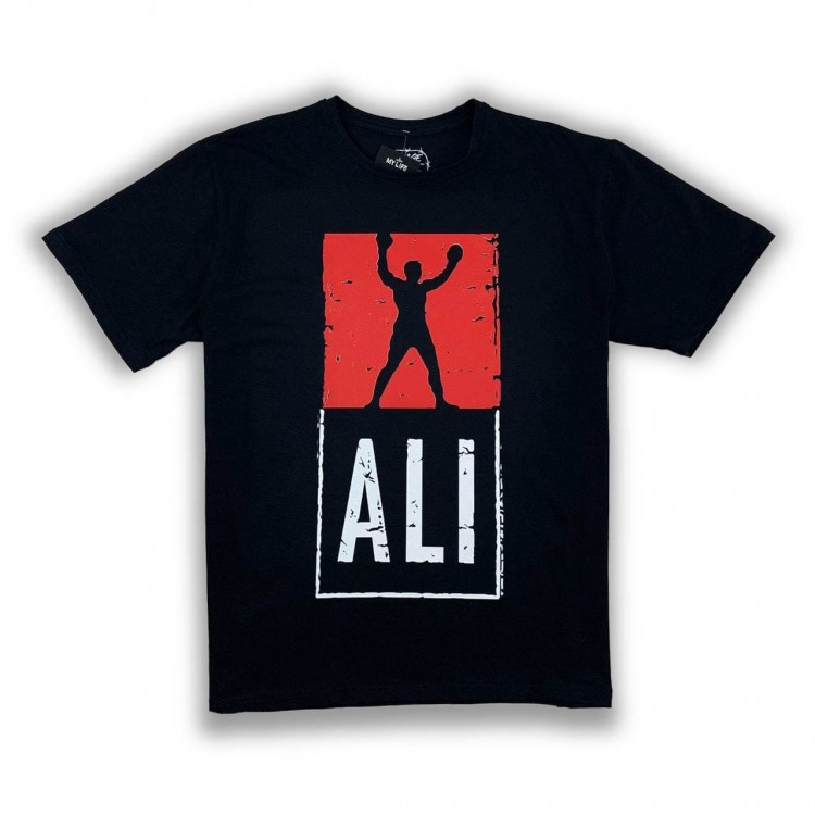 Мужская футболка ST Ali black/red