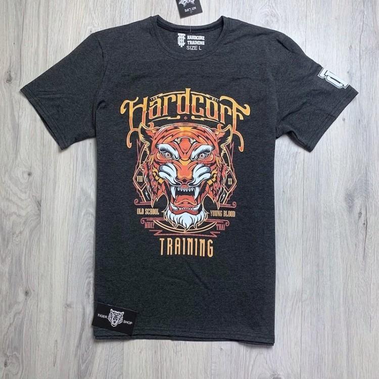 Футболка Hardcore Training Tiger ( dark gray )