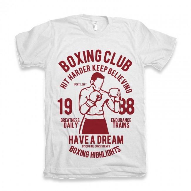 Футболка ST Boxing Club white