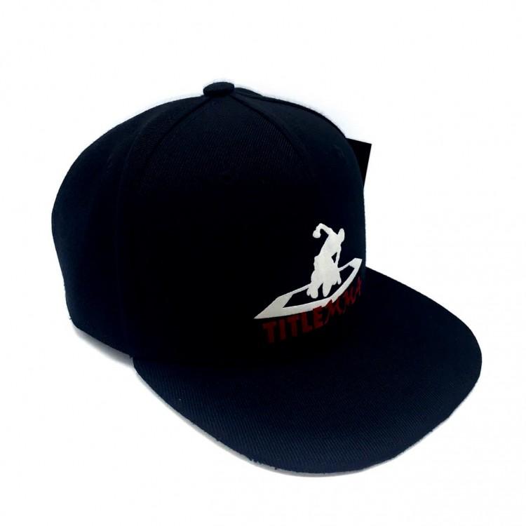 Snapback Title MMA Beat Down Logo Cap black