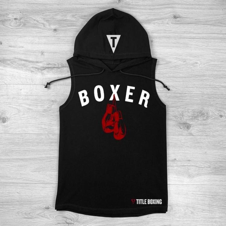 Безрукавка TITLE Boxing Boxer Muscle black