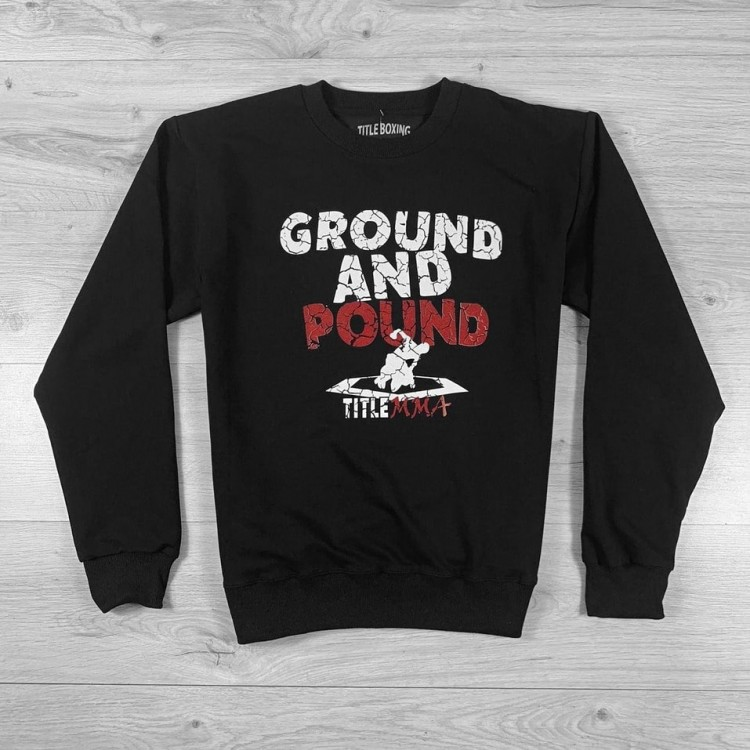 Свитшот Title MMA Ground and Pound Black