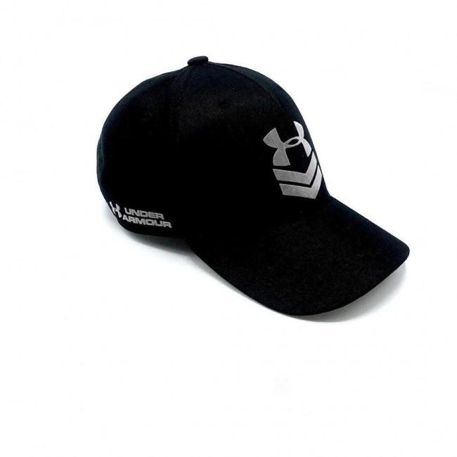 Бейсболка UA Undeniable Flat Brim Cap black/grey
