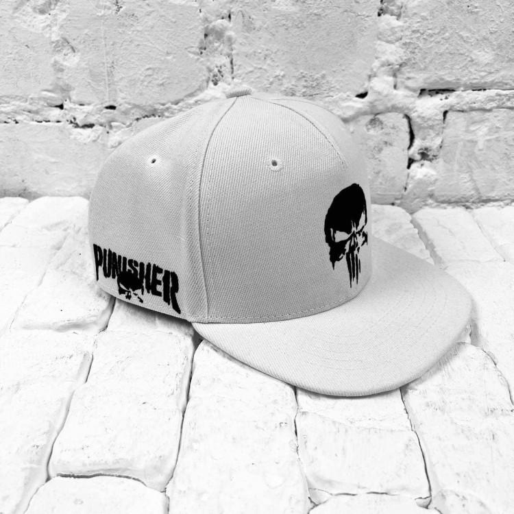 Snapback UA The Punisher white