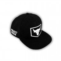 Snapback Under Armour Project Rock black/white