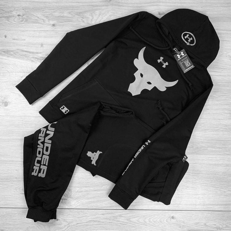 Спортивный костюм Under Armour Project Rock black/gray