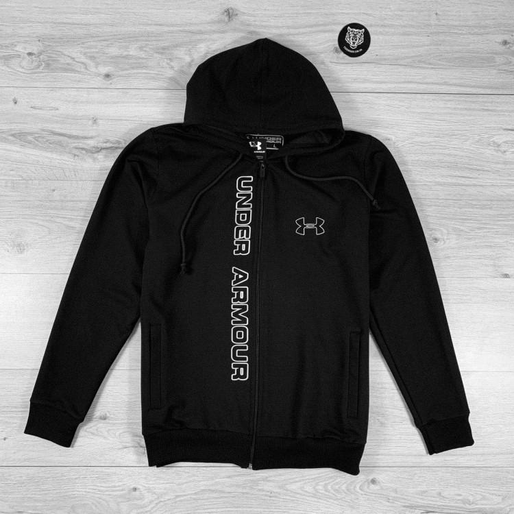 Кофта Under Armour  Transparent Logo black/gray