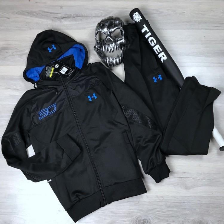 Спортивный Костюм Under Armour(Black \blue)