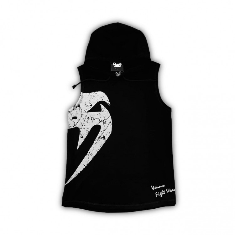 Безрукавка Venum Giant hooded black