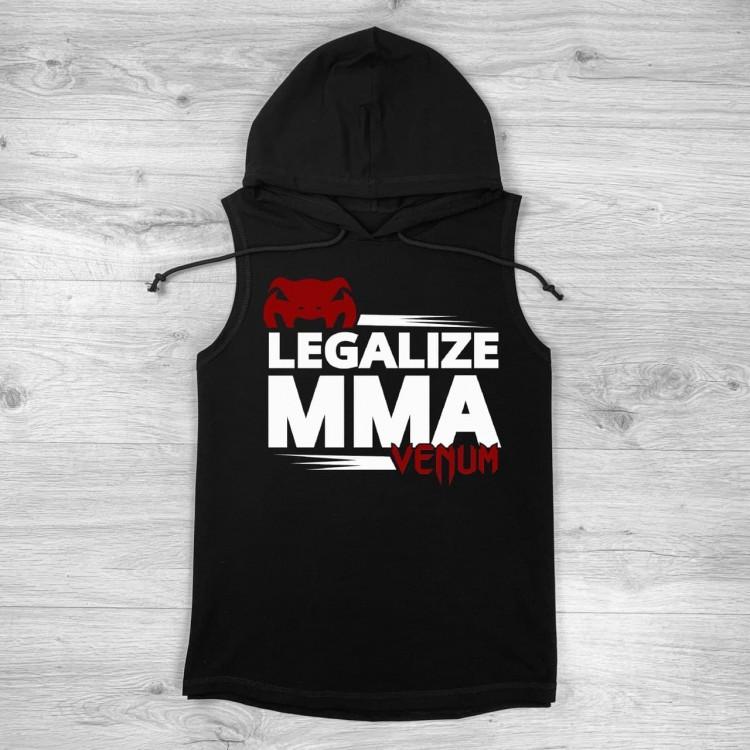 Безрукавка Venum Legalize MMA black