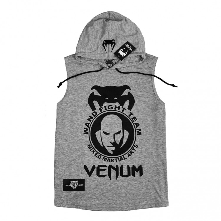 Безрукавка Venum Wand Fight Team silver