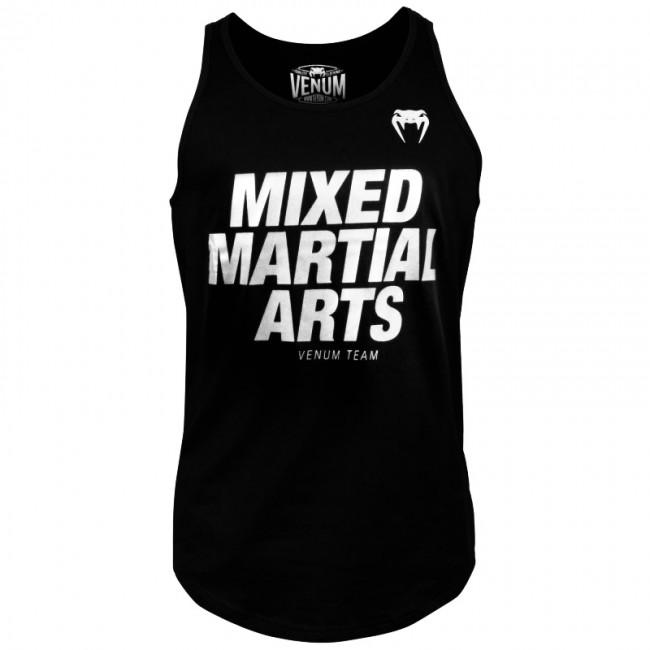 Майка Venum MMA VT Tank Top Black/Silver