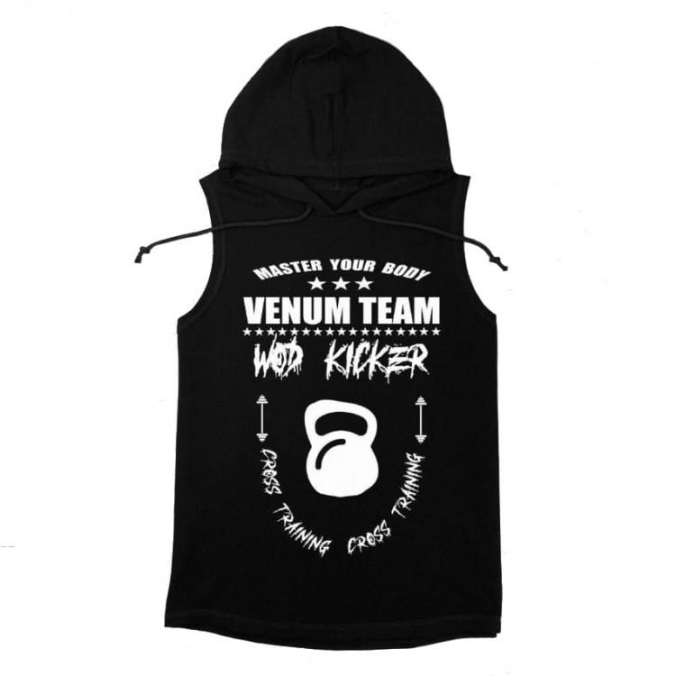 Безрукавка Venum Wod Kicker T-shirt White Black