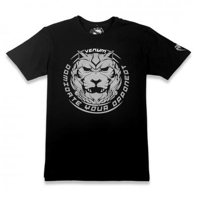 Мужская футболка Venum Lion black/gray