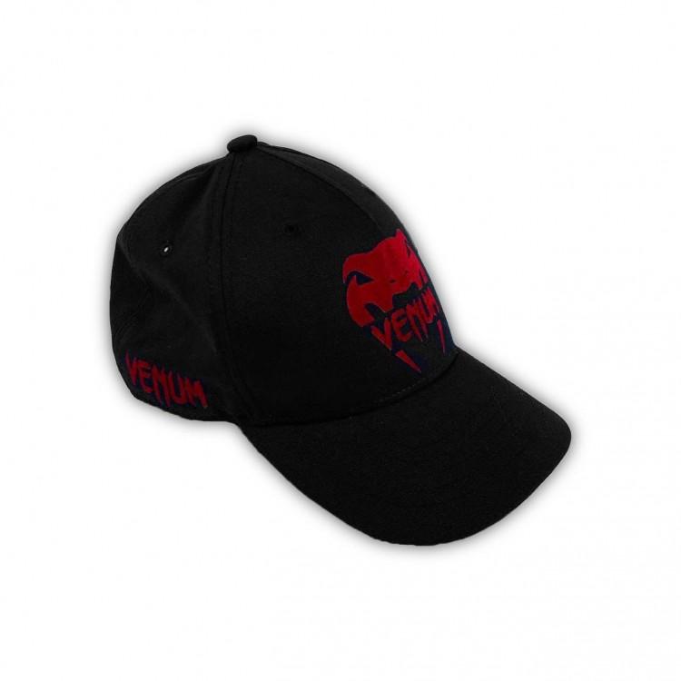Бейсболка Venum Logo Classic black/red
