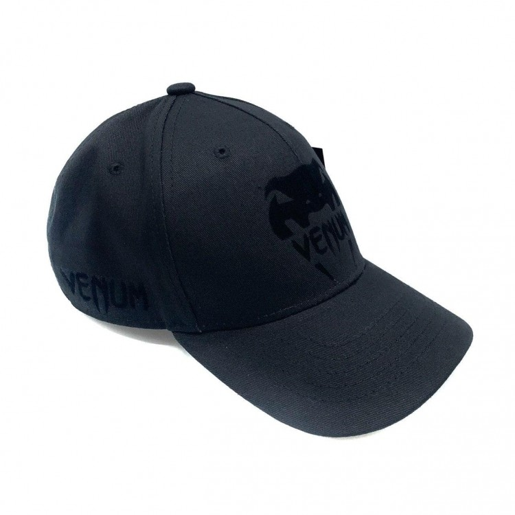 Бейсболка Venum Logo Classic black/black