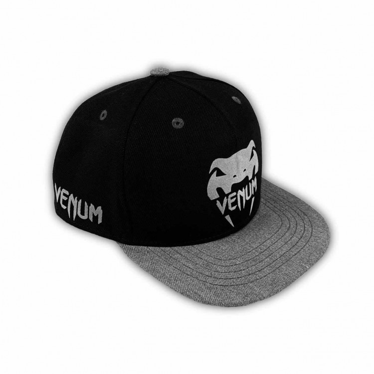 Snapback Venum Big logo black/gray