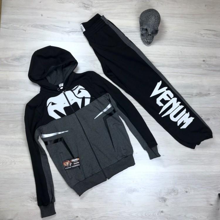 Спортивный Костюм VENUM  (Black \Gray) cobra