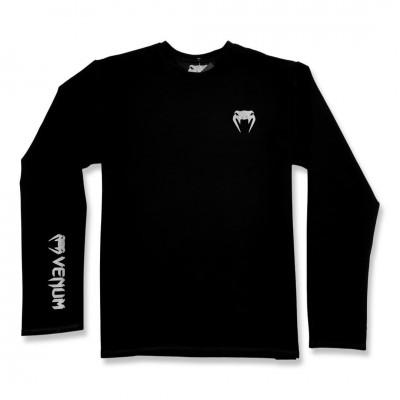 Кофта Venum Long Sleeve Classic Logo black/gray